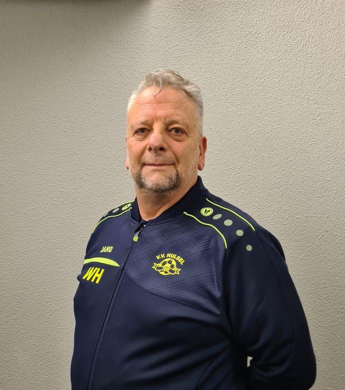 Hulsel-trainer Wim Hoeben.