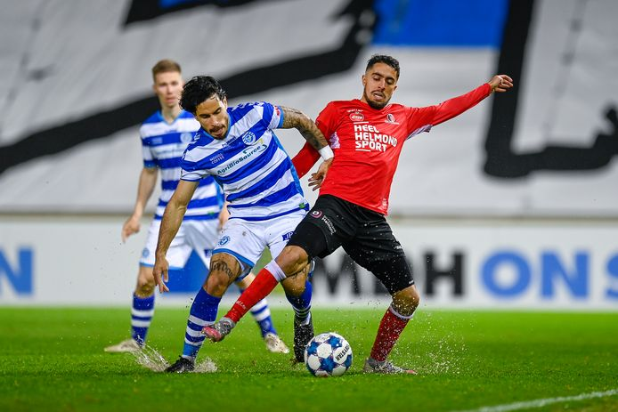 Jordy Tutuarima heeft tegen Helmond Sport zijn laatste wedstrijd in het shirt van De Graafschap gespeeld.