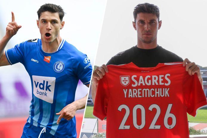 Roman Yaremchuk naar Benfica.