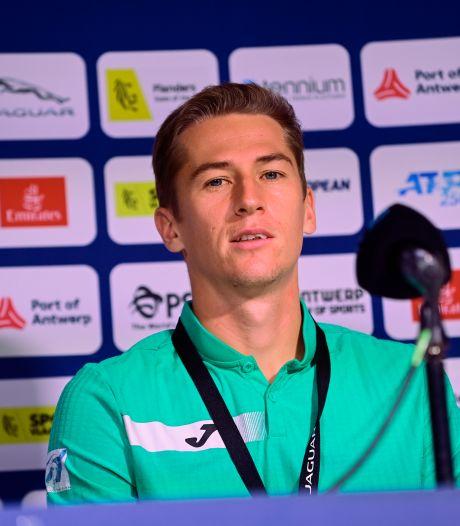 """Kimmer Coppejans sorti d'entrée à l'European Open: """"Mes mauvais retours ont fait la différence"""""""