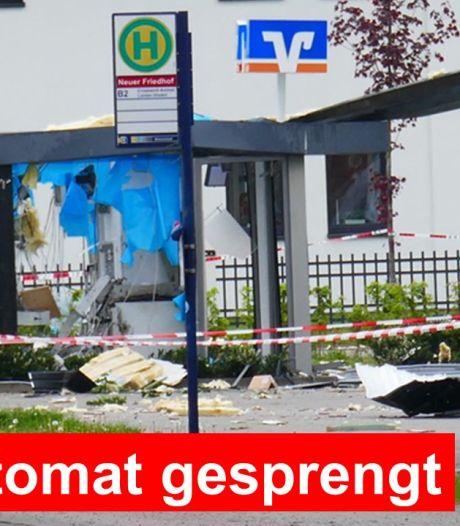 Bomexperts brengen explosieven tot ontploffing bij grenssuper: geldcassette weerstaat plofkraak