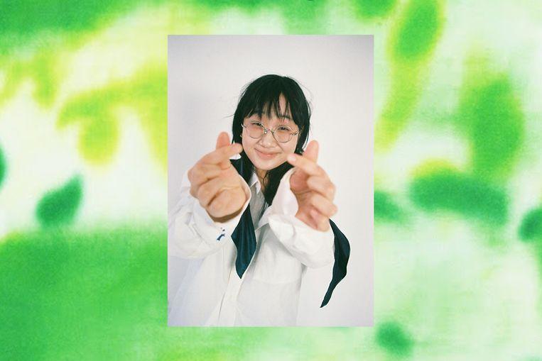 Yaeji op de cover van What We Drew. Beeld Dasom Hahn