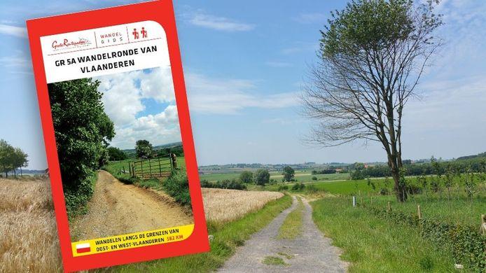 De langste wandeling van Europa loopt door Ronse. De kaart is te koop bij Visit Ronse.