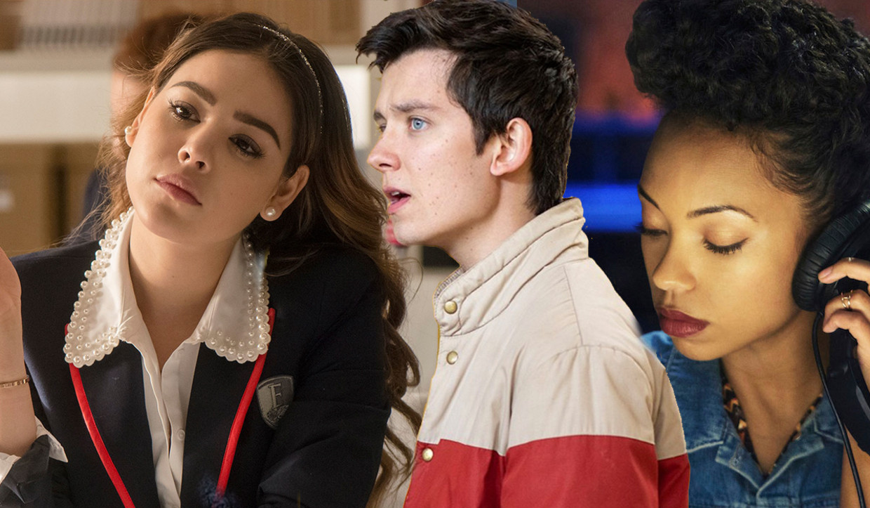 'Elite', 'Sex Education', 'Dear White People' Beeld Netflix