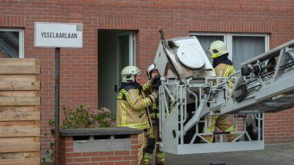 Bewoner naar ziekenhuis na brand droogkast