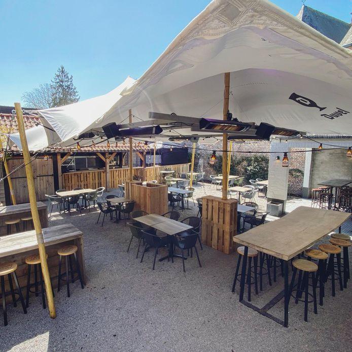 Café Sint-Elooi is klaar voor de heropening.