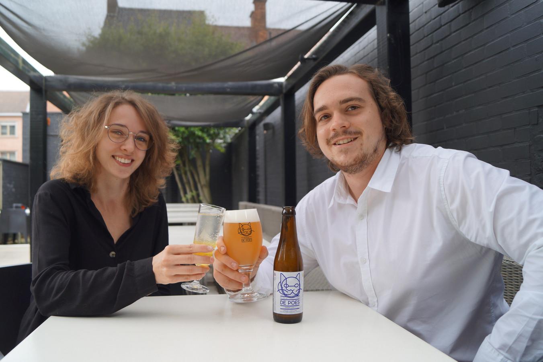 Eline Baute (21) en Mathias Van Heyste (25) beginnen een nieuw avontuur in Tielt.