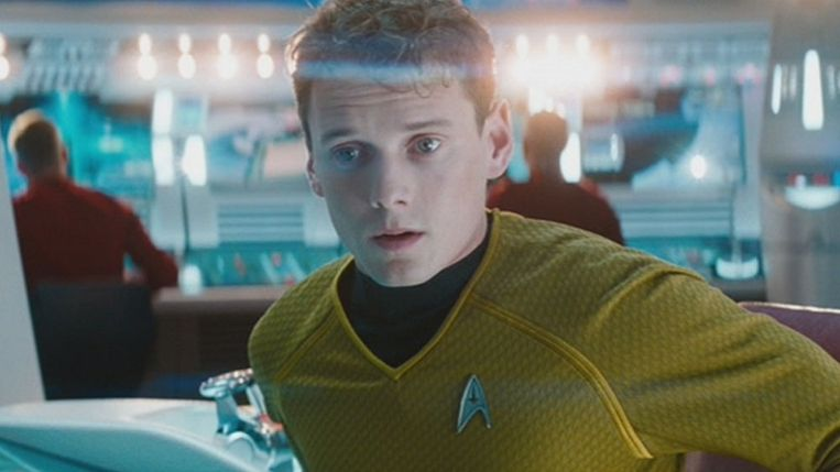 Anton Yelchin in 'Star Trek'.