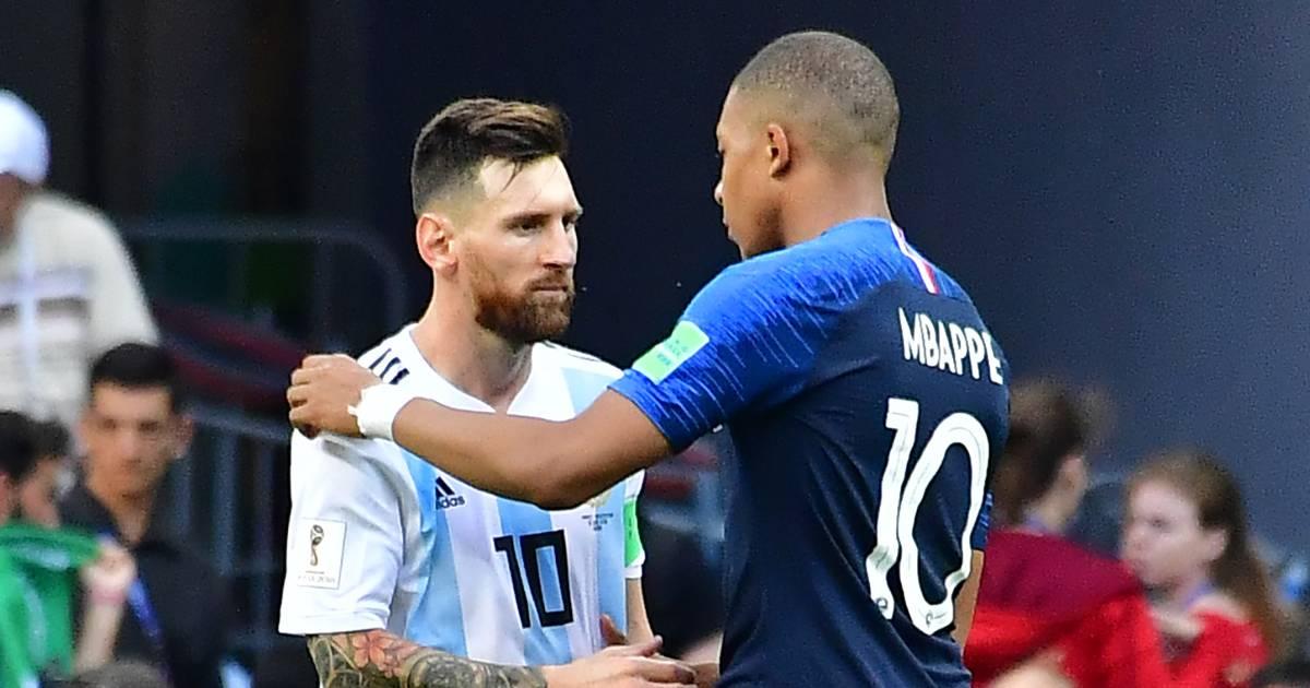 """Mbappé """"a le potentiel"""" pour succéder à Messi et Ronaldo: """"Une simple question de temps"""" - 7sur7"""