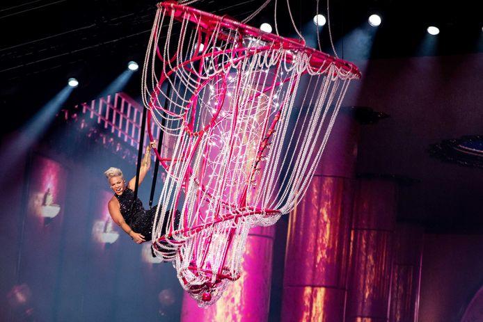 Een megaconcert met toeters en bellen in de Johan Cruijff Arena, zoals hier bij Pink, kunnen we voorlopig vergeten