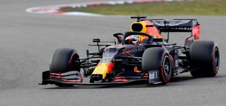 Verstappen content met derde startplek: 'Komen steeds dichter bij Mercedes'