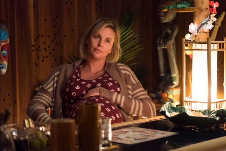 Charlize Theron in 'Tully'. Beeld rv
