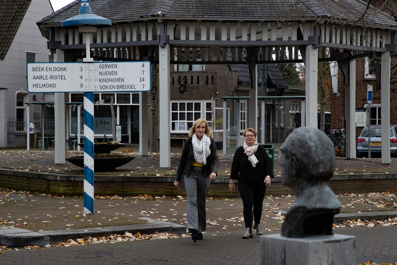 Hilde ten Thije (l) en Esther Smeets organiseren events voor meiden met autisme.