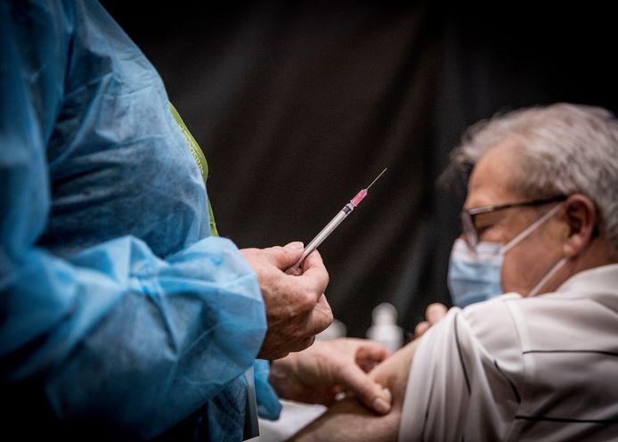Centre de vaccination à Strasbourg