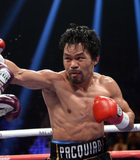 Pacquiao reageert op Mayweather: 'Ik daag geen niet-boksers uit puur voor het geld'