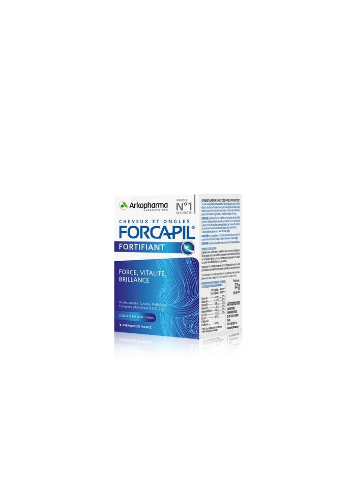 Conseils d'utilisation : 2 gélules par jour durant 3 mois. La cure (180 gélules) est à 37,30 euros. Toute la gamme Forcapil est disponible en pharmacies et également sur le site de Newpharma.