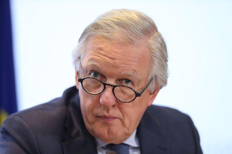 Pensioenminister Daniel Bacquelaine. Beeld BELGA