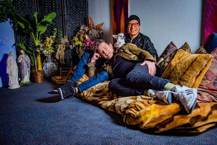 Robert Dresia en zijn partner Joop.