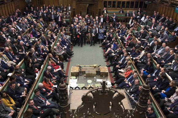 May verloor gisteren voor de tweede keer een stemming over haar deal met Europa.