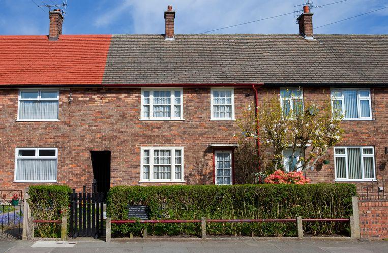 In een paar vroege songs die Paul McCartney schreef, speelt dit huis in Forthlin Road een rol. Het werd gerestaureerd en is te bezoeken.  Beeld Alamy Stock Photo
