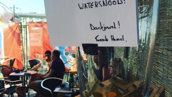 """""""Fooien en vrije bijdragen in één grote pot"""": café 't Hemelrijk wil horeca verenigen voor slachtoffers overstromingen"""