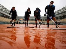 La pluie retarde le début des matchs à Roland-Garros, sauf sur le Central