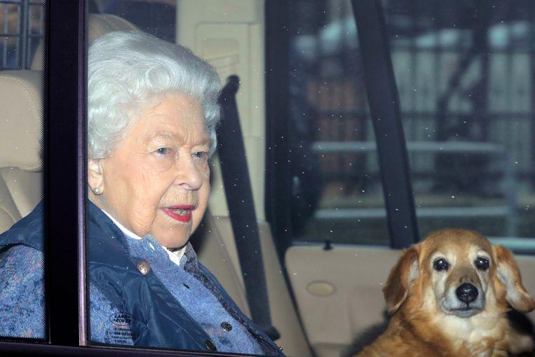 De Queen vertrok gisteren naar een meer afgelegen plaats om in quarantaine te gaan.