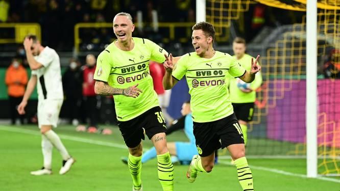 Football Talk. Thorgan Hazard redt Dortmund in Duitse beker - Verschaeren ontbreekt in beker bij Anderlecht