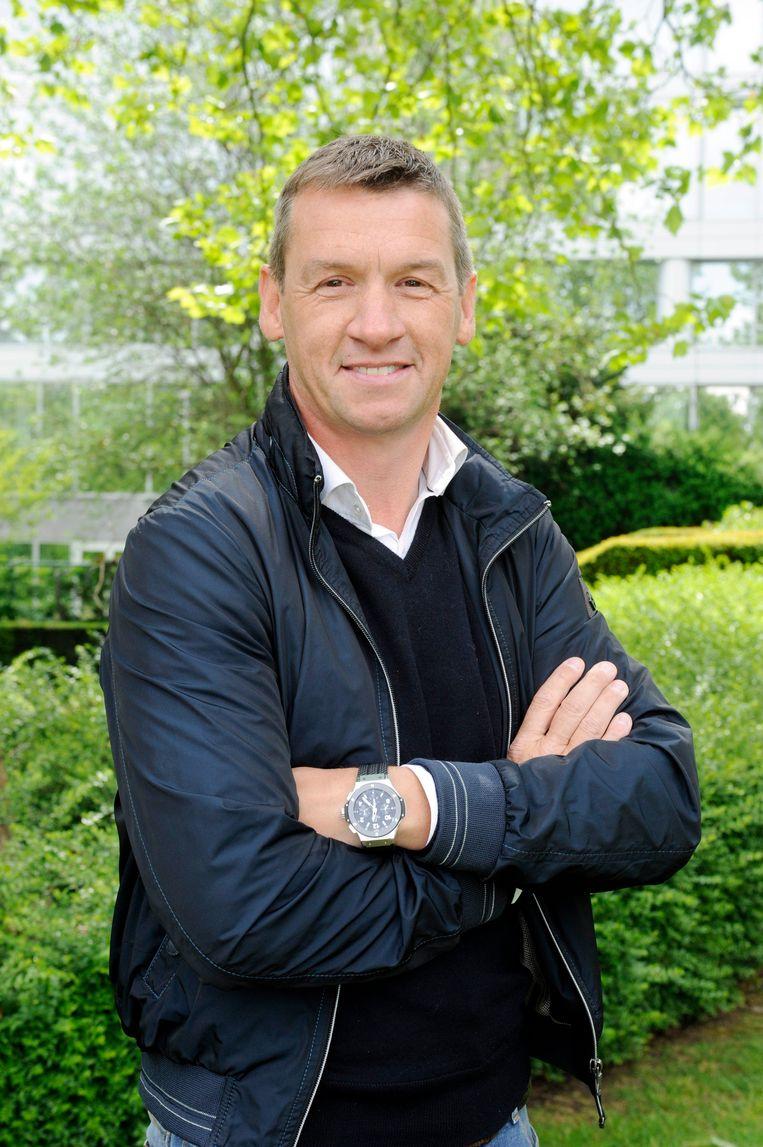 Geert De Vlieger: 'De troef van een voetballer benadrukken betekent niet zijn intelligentie of voetbalkwaliteiten in vraag stellen.' Beeld Photo News
