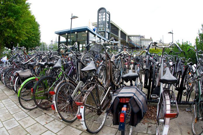 Zuidzijde van station Woerden.