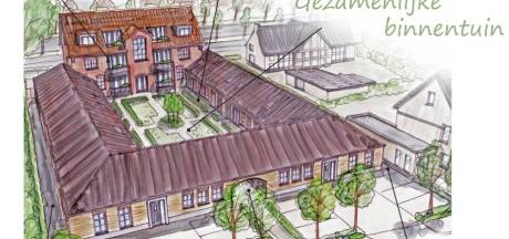 Woningen rond gezamenlijke tuin in en bij oud douanekantoor Wernhout