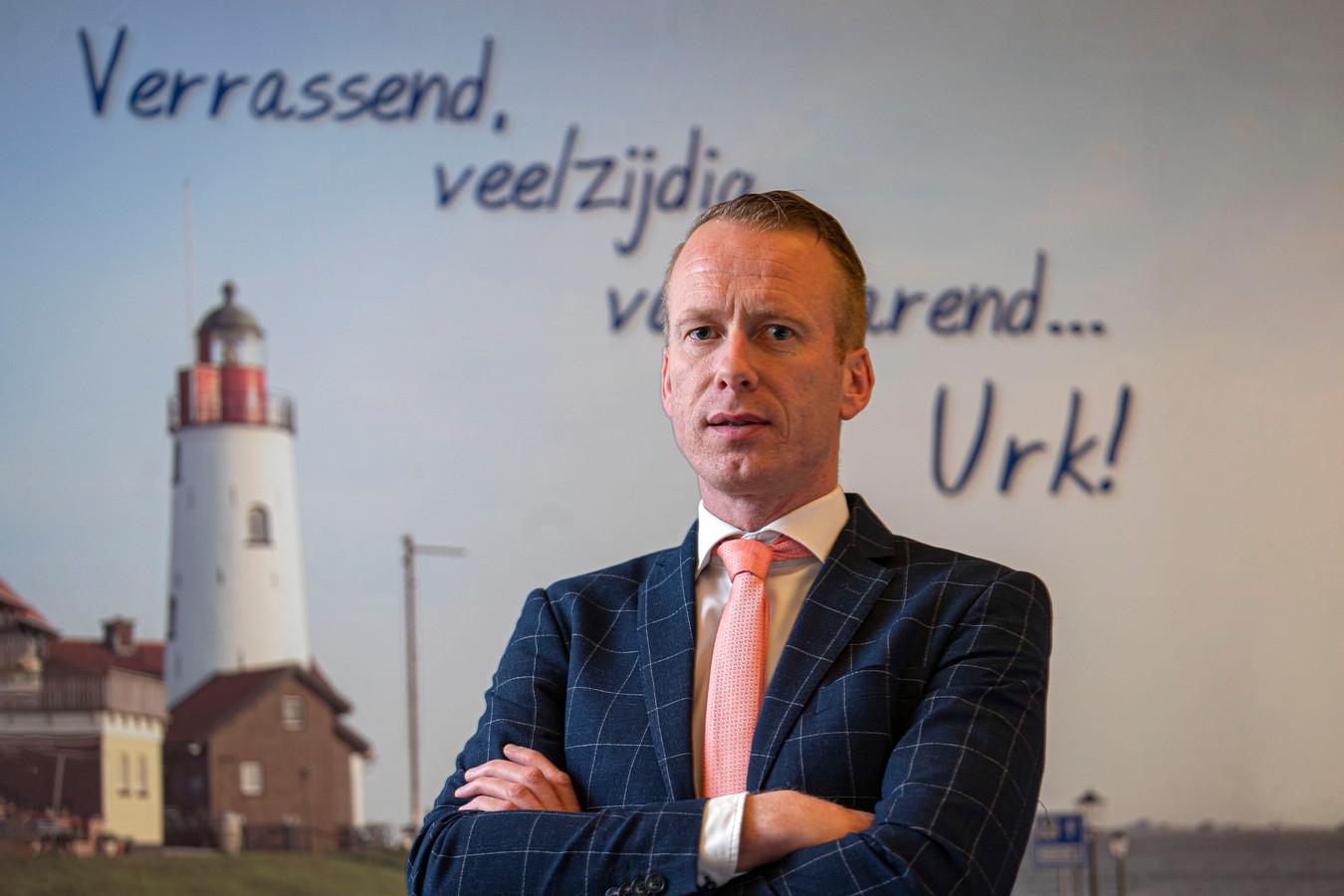 Burgemeester Cees van den Bos.