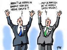 Aanpak van milieu door nieuwe coalitie Brabant stelt teleur; progressieve partijen maken te weinig verschil