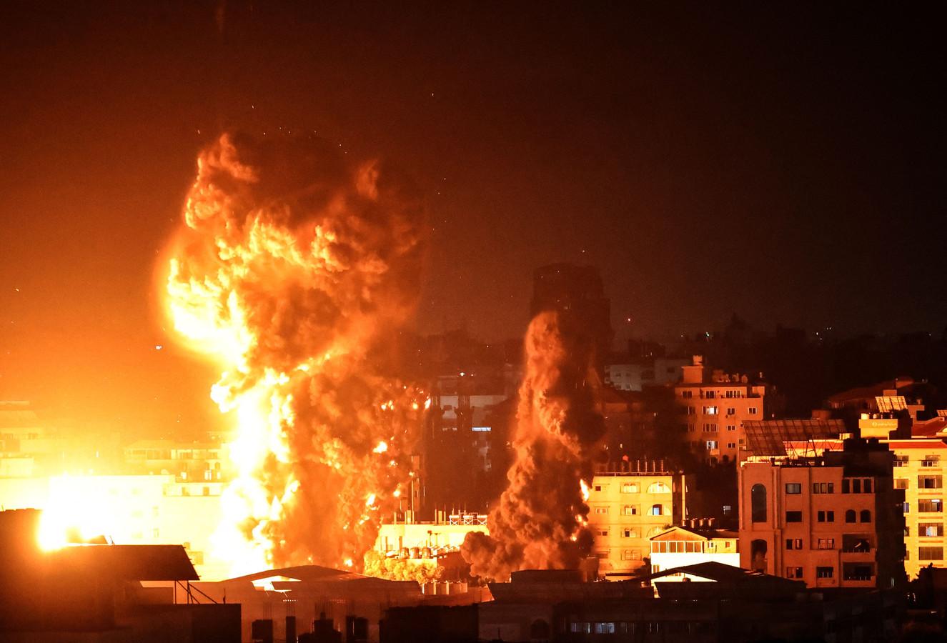 Gaza, la nuit dernière.