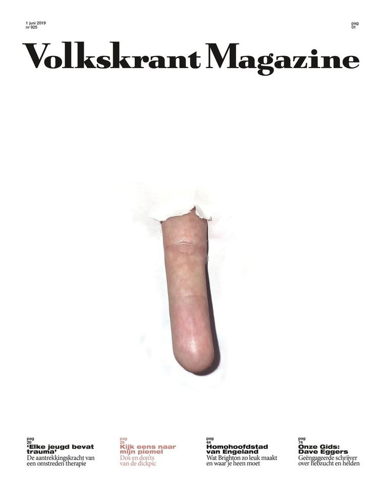 Cover Volkskrant Magazine 1 juni 2019 Beeld Volkskrant Magazine
