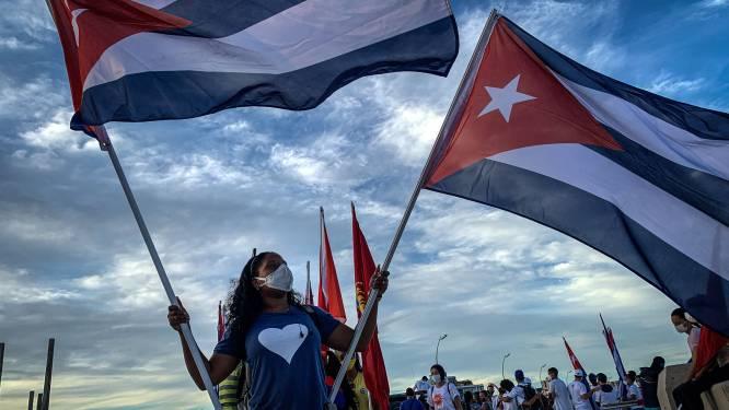 Zestigtal mensen berecht na protesten in Cuba