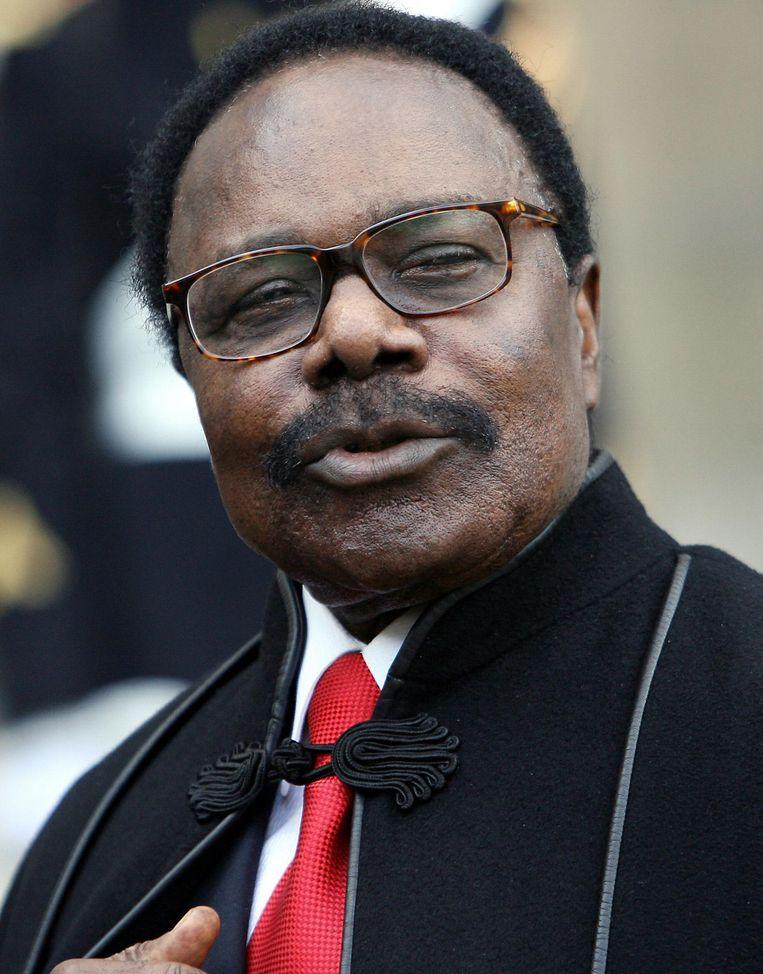 Omar Bongo Ondimba (Gabon) Beeld afp
