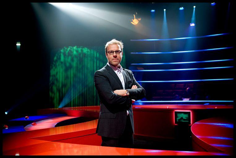 Tom Lenaerts in 'De pappenheimers'.  Beeld © Woestijnvis 2009