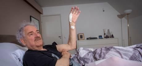 Brute zwijnenaanval na plaspauze in bos wordt André (80) bijna fataal: 'Ik dacht: dit is het einde'