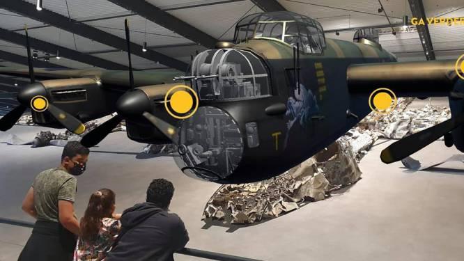 Britse bommenwerper die tijdens Tweede Wereldoorlog neerstortte in Bunsbeek nu te bezichtigen in Nederlands museum
