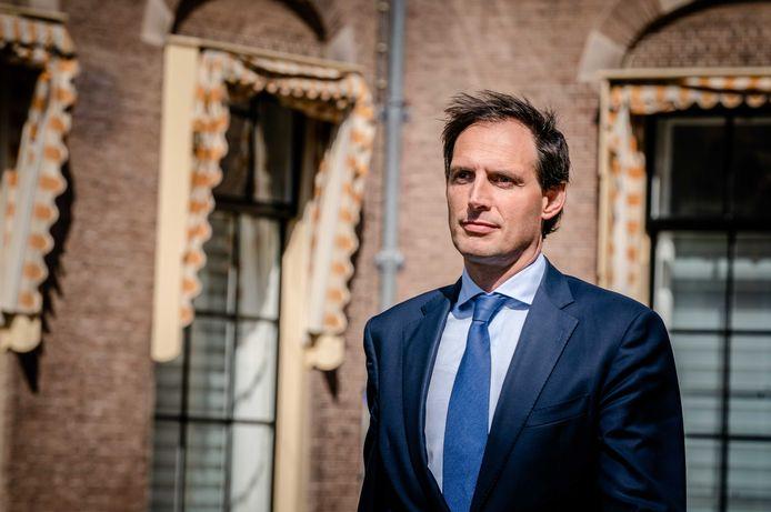 CDA-leider Wopke Hoekstra wacht een kritisch congres zaterdag.