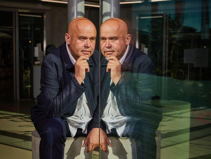 """Directeur Guus Beumer: ,,Gezamenlijk hebben we van Het Nieuwe Instituut één mooie, culturele plek gemaakt die veel belangstellenden omarmen en waarderen."""""""