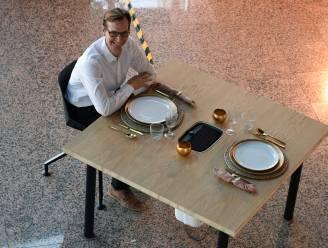 Aan deze 'coronatafel' adem je alleen maar zuivere lucht in: bedrijf uit Boortmeerbeek heeft patent op uitvinding