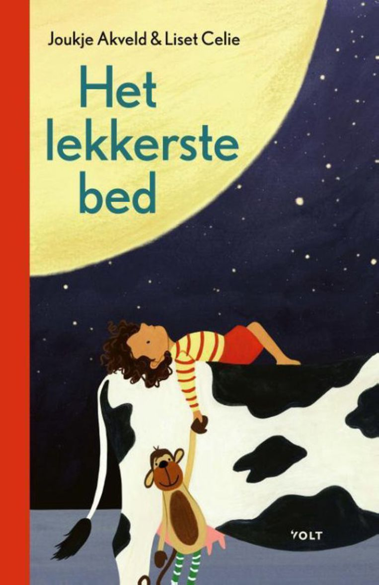 Het lekkerste bed met illustraties van Liset Celie, Volt, € 15,99. Beeld