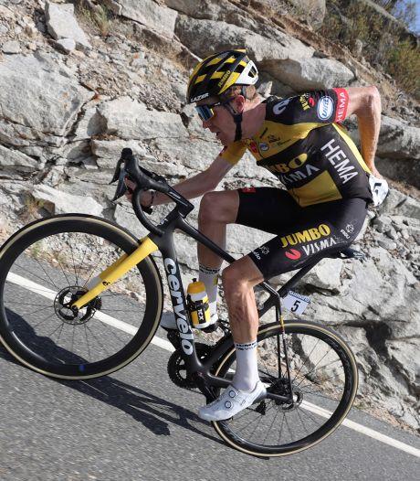 Kruijswijk na tweede plaats in Vuelta: 'Was niet de bedoeling om in de aanval te gaan'