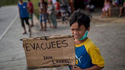 Vrees voor vulkaanuitbarsting op Filipijnen: koppige inwoners krijgen 24 uur de tijd om te vertrekken