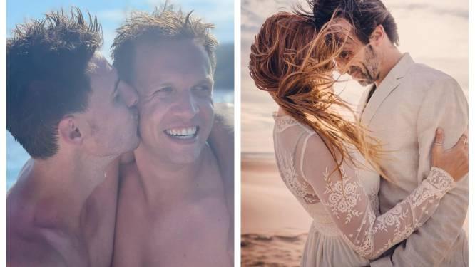 SHOWBITS. James Cooke kijkt al uit naar zijn huwelijk en Katja Retsin is 21 jaar getrouwd