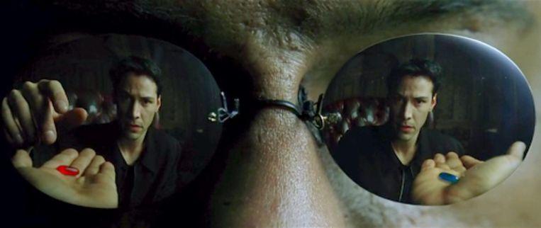 Keanu Reeves in The Matrix (1999). Beeld