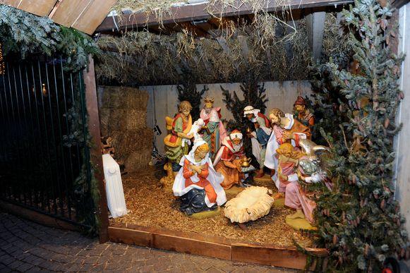Ook de voorbije jaren was de kerststal op de Grote Markt een traditie in Leuven.
