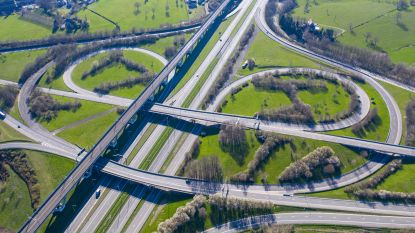 Autoverkeer op Vlaamse snelwegen licht toegenomen tijdens eerste week paasvakantie